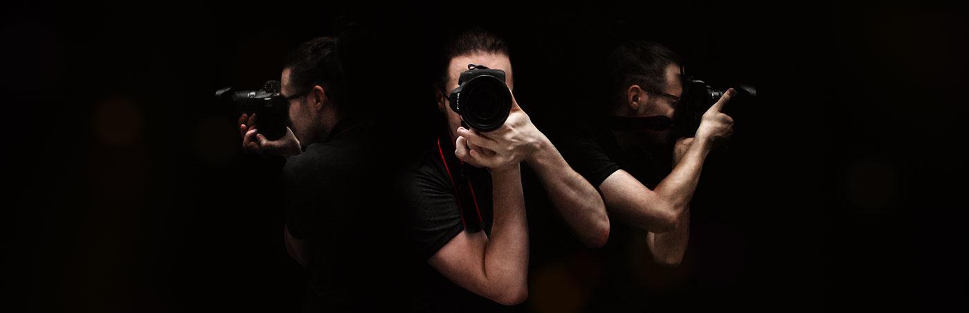 Un photographe partout à la fois