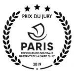 Prix du Jury au Concours des Nouveaux Habitants de la Mairie de Paris 17e
